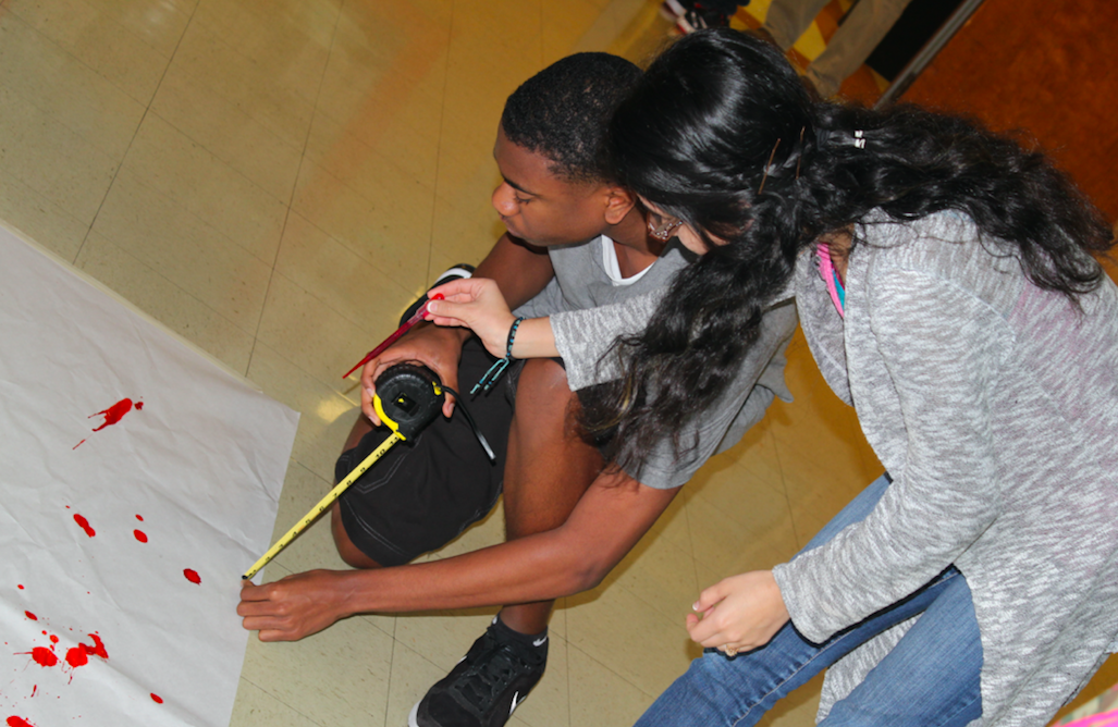 Travis students learn about forensic science